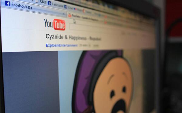 YouTube social media sharing referral traffic