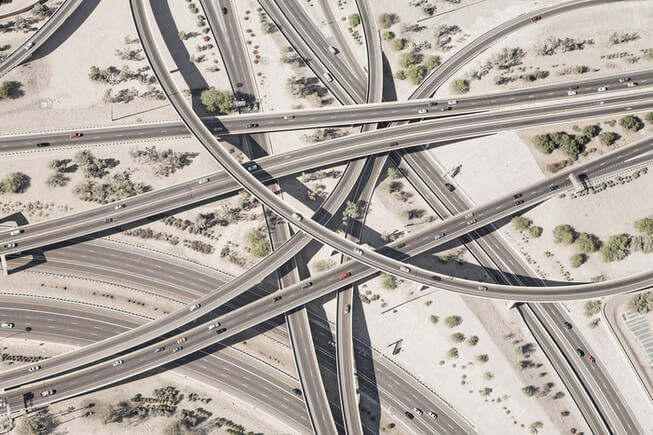 GA intricate freeway